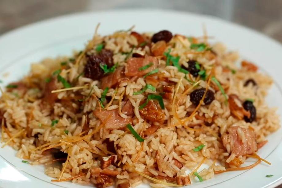 Rice, Peruvian Christmas Food