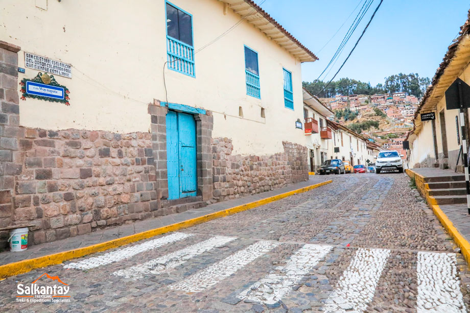 Location, street, quechua language