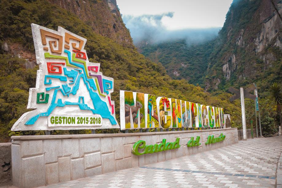 Machu Picchu, Aguas calientes, relax