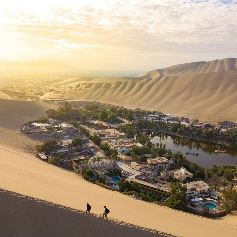 The Desert Oasis in Huacachina, Ica, Peru attractions
