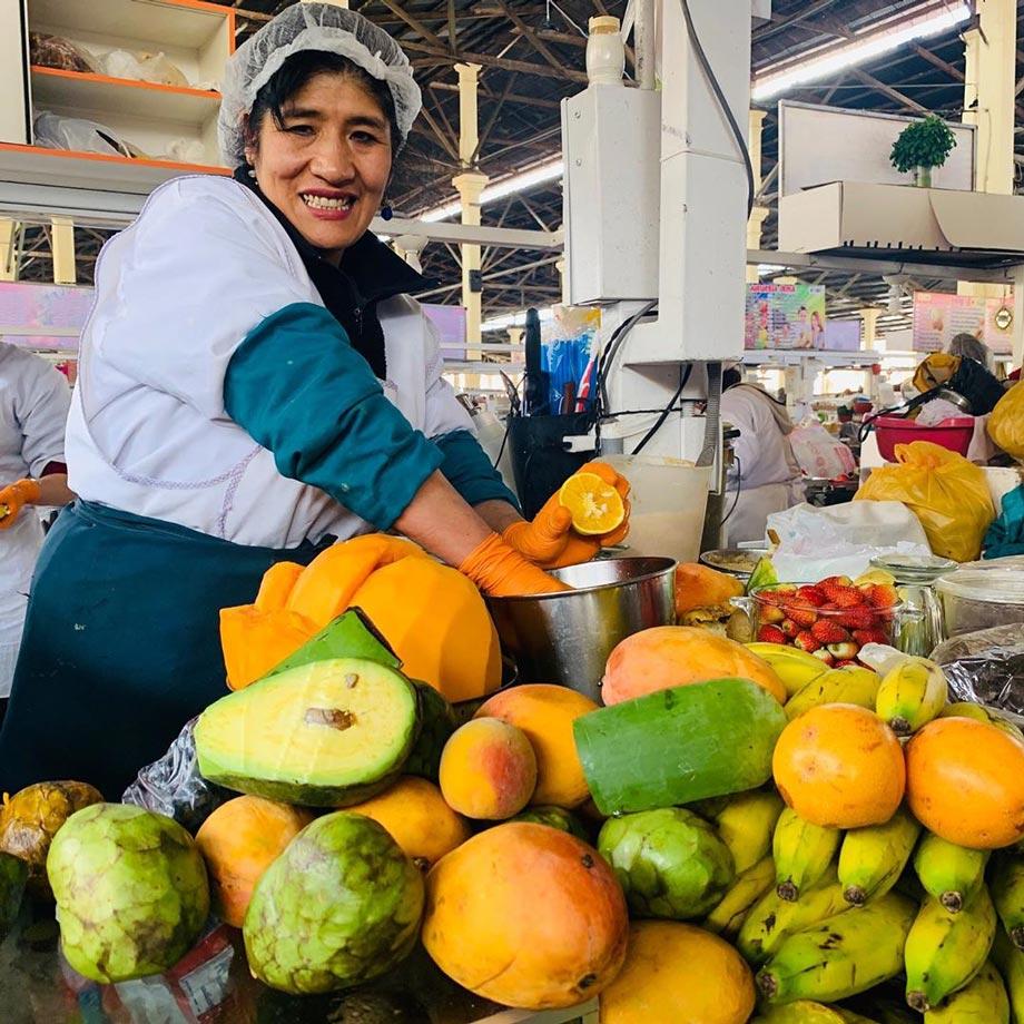 San Pedro Market, Cusco