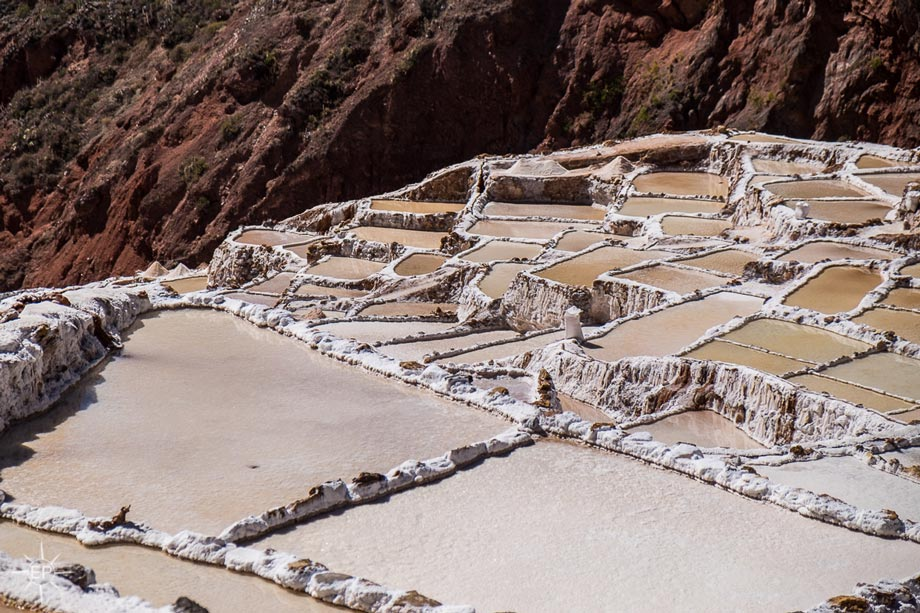 How do Salt Mines of Maras work, Sacred Valley