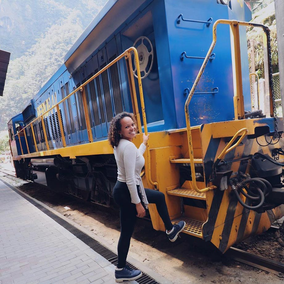 Train is the best option to travel to Machu Picchu in Cusco