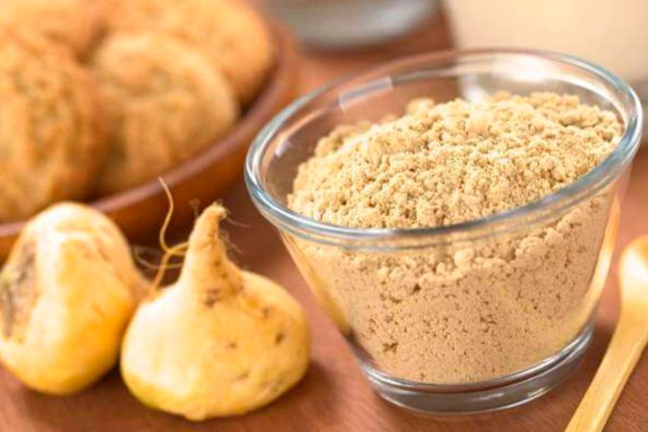 Maca is a root, peruvian super food, andina, difusion
