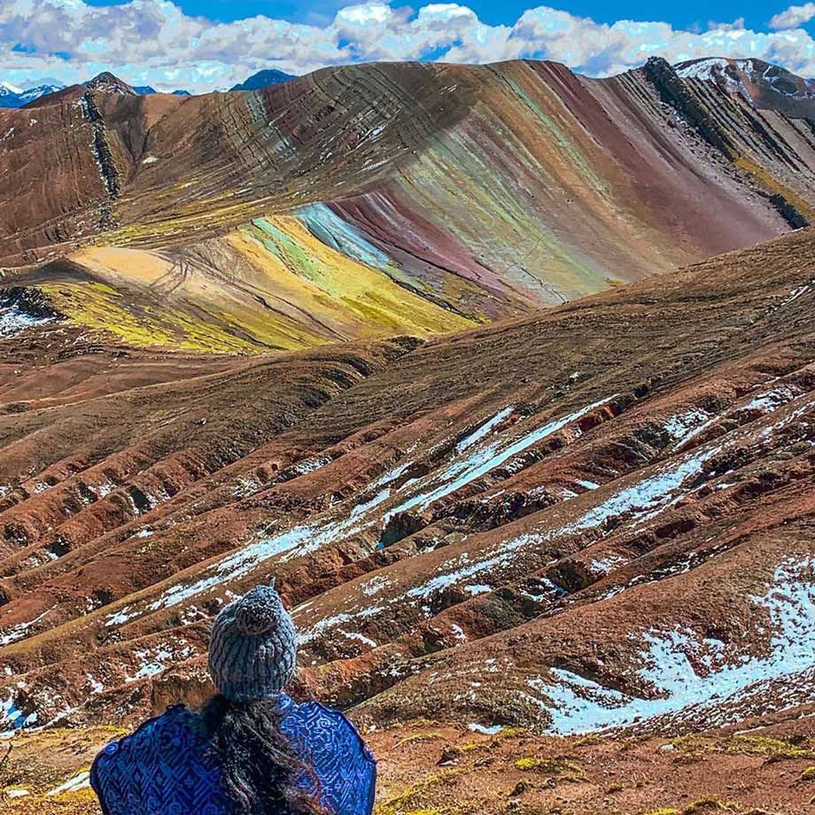 Rainbow Mountain or Palcoyo