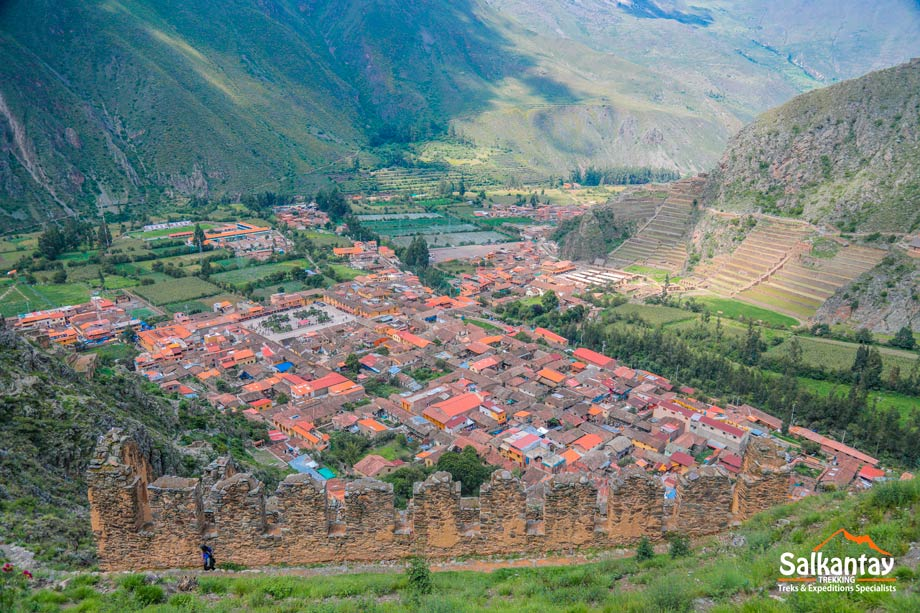 Town center of Ollantaytambo, Sacred Valey