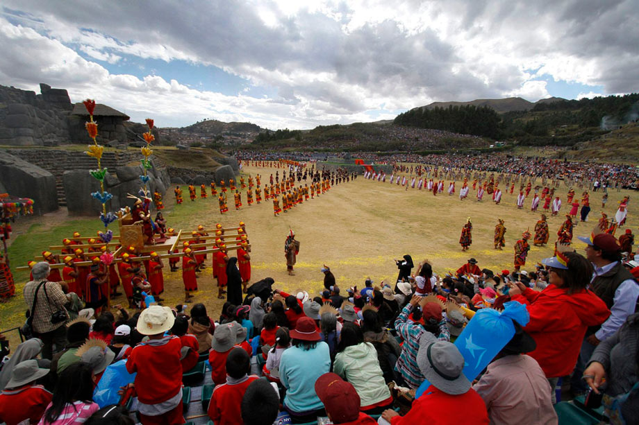 What Happens on June 24, inti raimi, sacsayhuaman