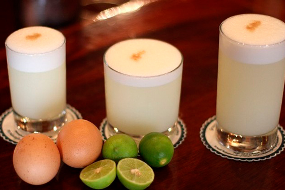 If You Like Wine, Try Pisco Sour, Peru.