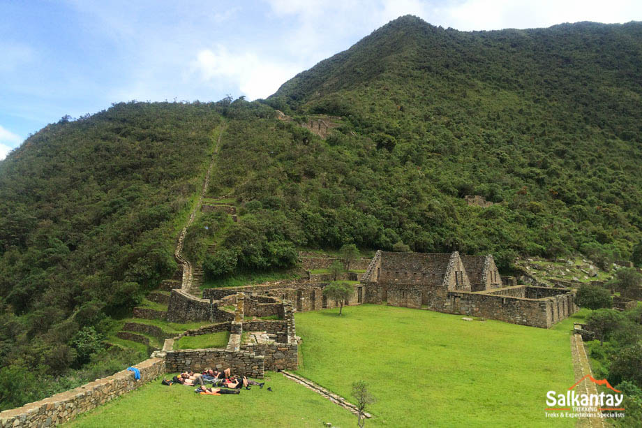 Choquequirao, inca citadel in Cusco