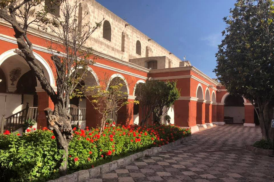 The Monastery or Monasterio of Santa Catalina in Arequipa.