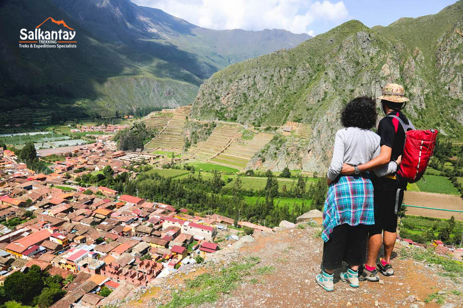 Ollantaitambo town in the Sacred Valley.