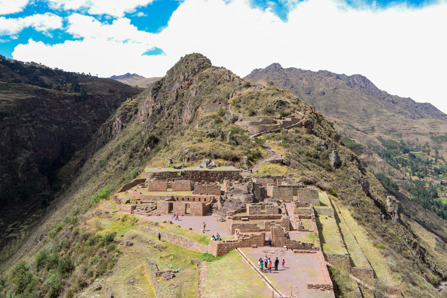 Pisac Archaeological Complex in the Sacred Valley.