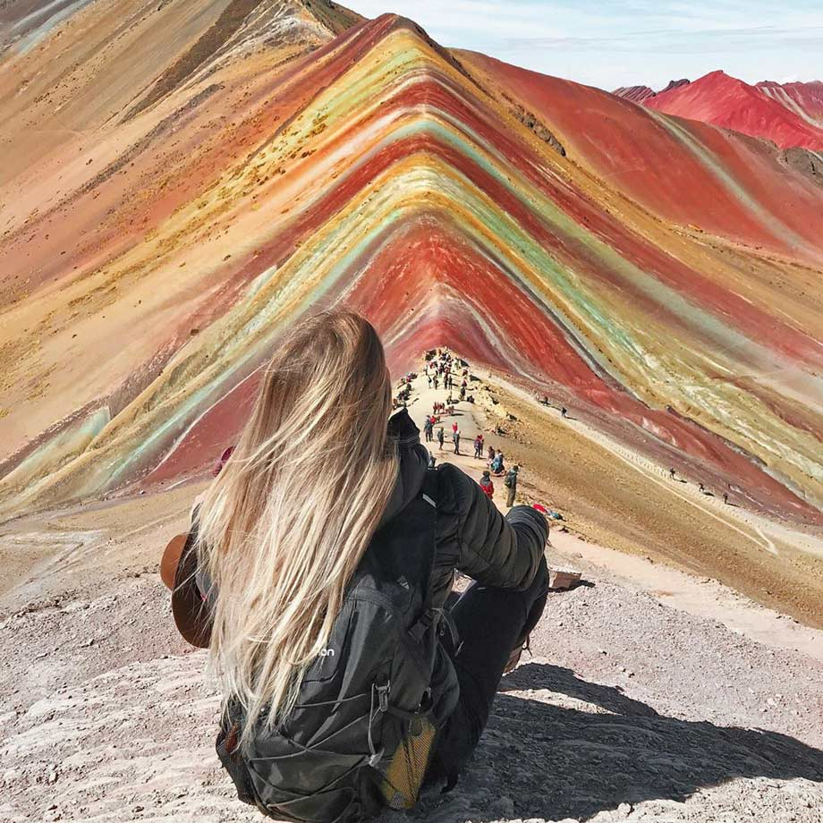 Rainow Mountain, mountain of seven colors