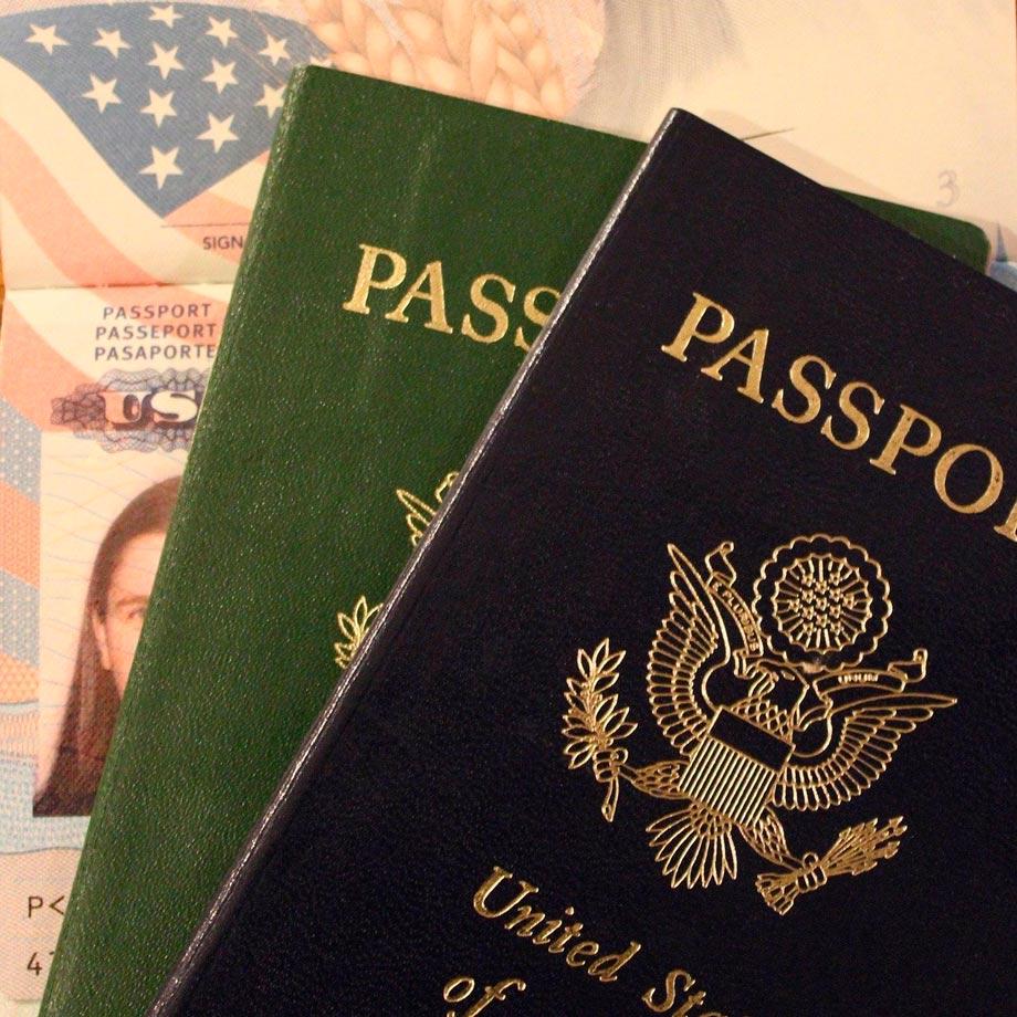 Bookings, passport Inka Trail
