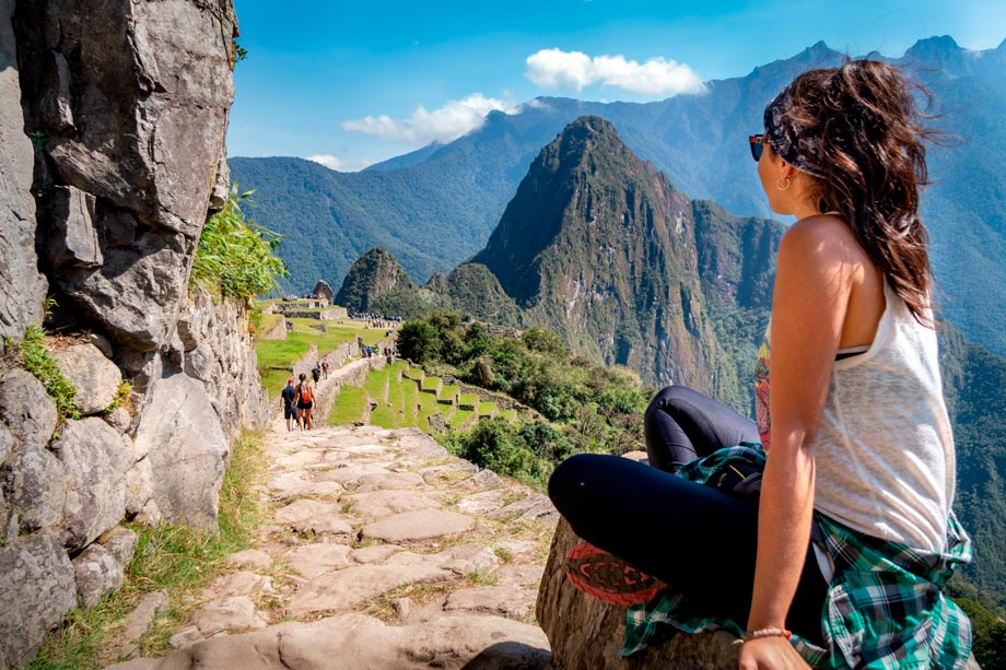 Inca Trail, famous routo to reach Machu Picchu
