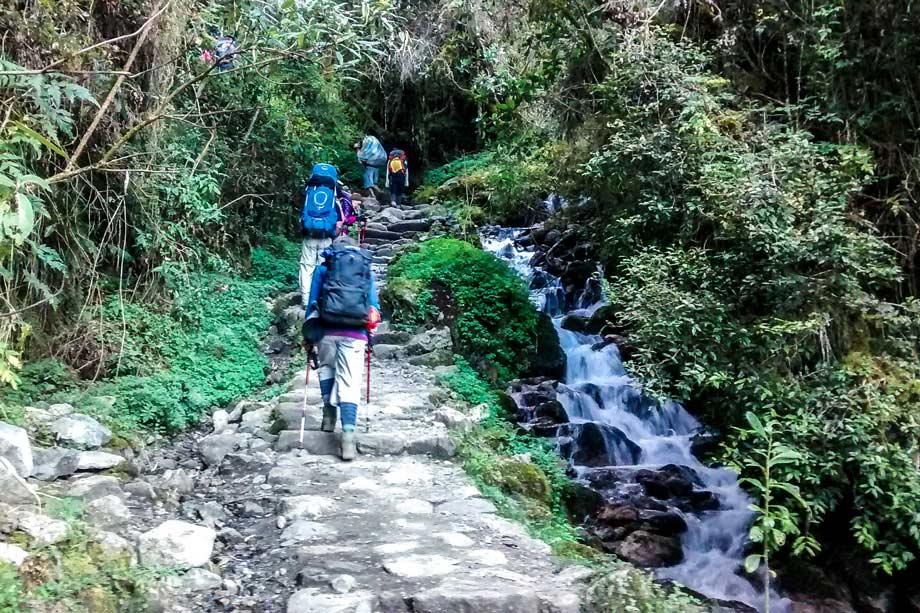 Minimum mandatory equipment Inka Trail