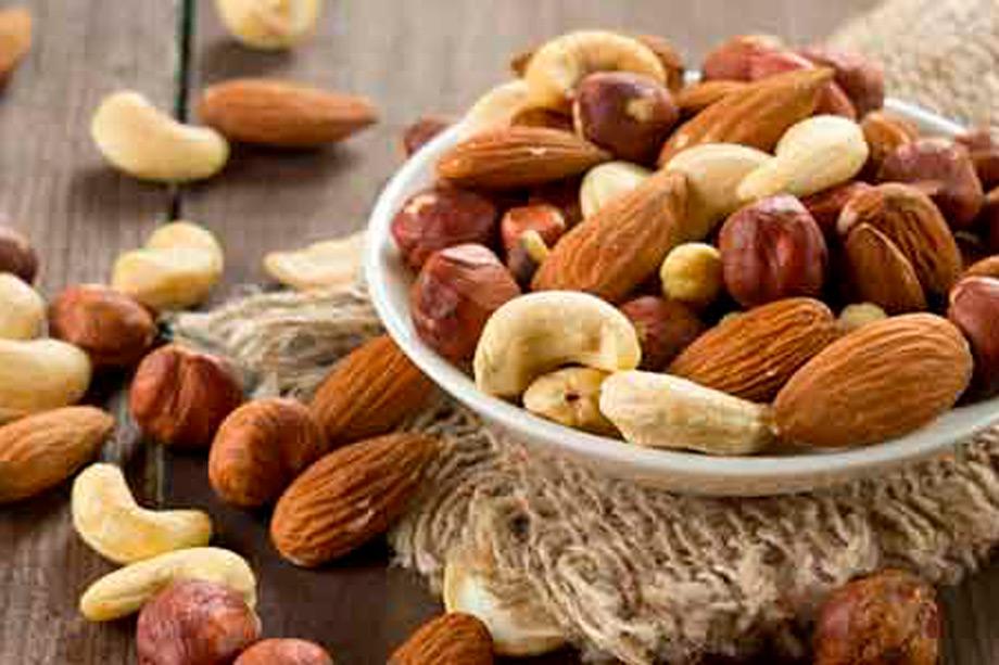 Nuts and seeds, hiking food peru