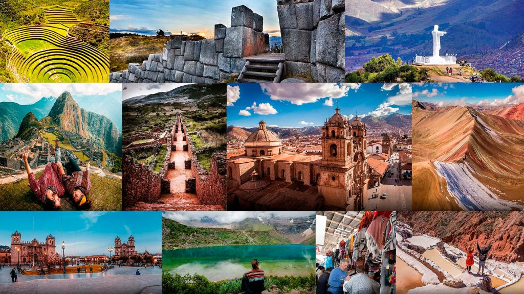 Picture collage of Top 10 Places to Visit in Cusco