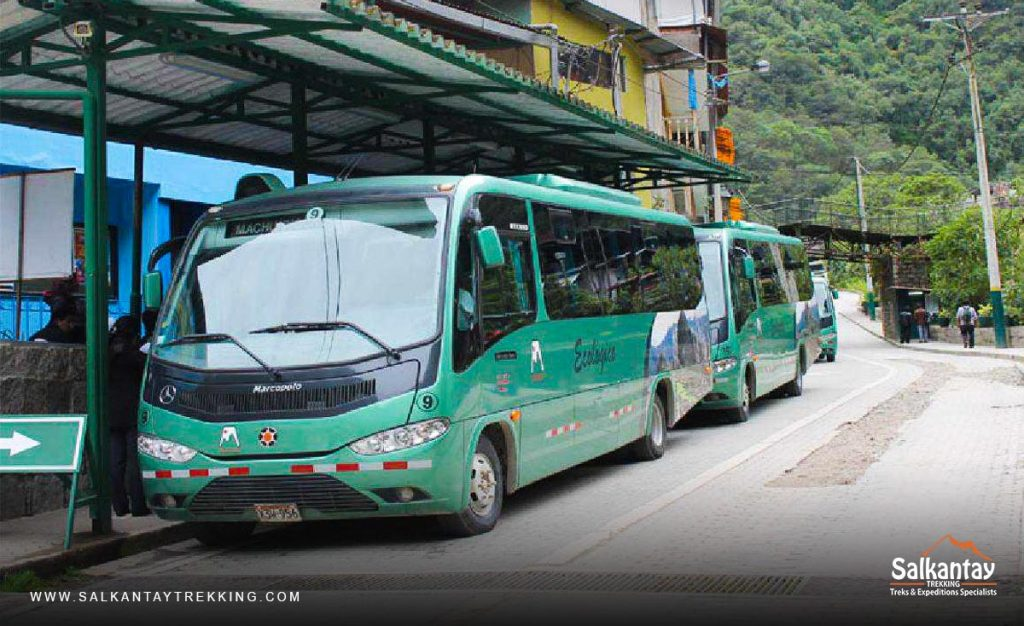 CONSETTUR Bus to Machu Picchu