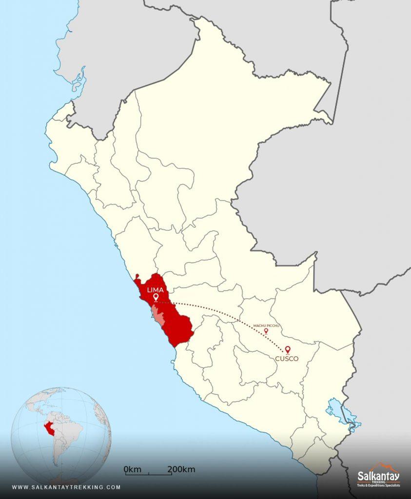 Lima to Cusco-Machu Picchu
