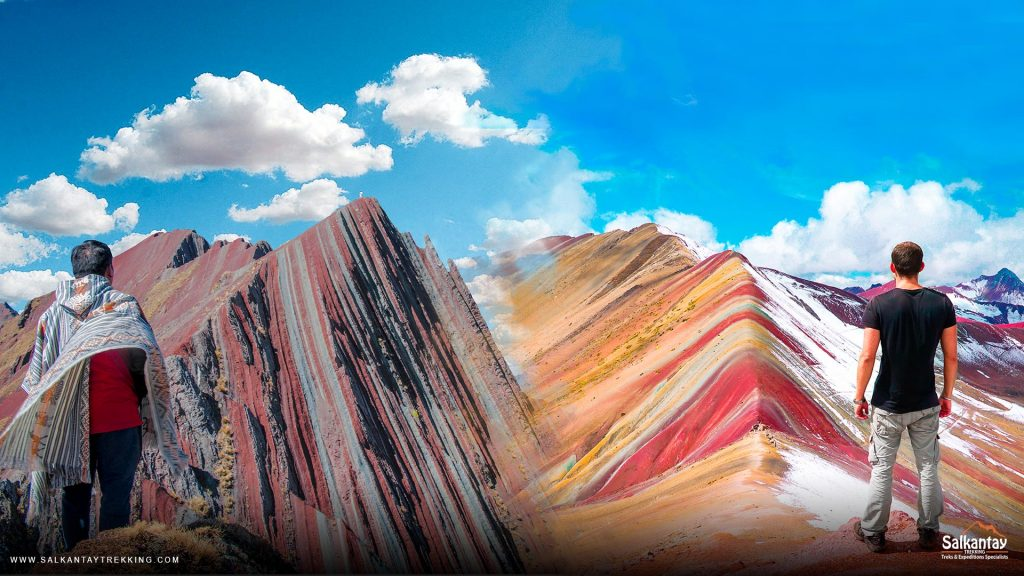 The Difference Between Pallay Punchu and Ausangate Rainbow Mountain