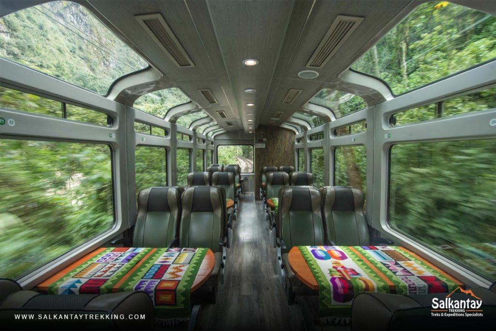 The Vistadome Train PeruRail