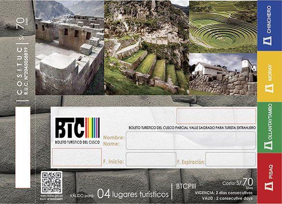 Boleto Turístico Cusco - Circuit 3
