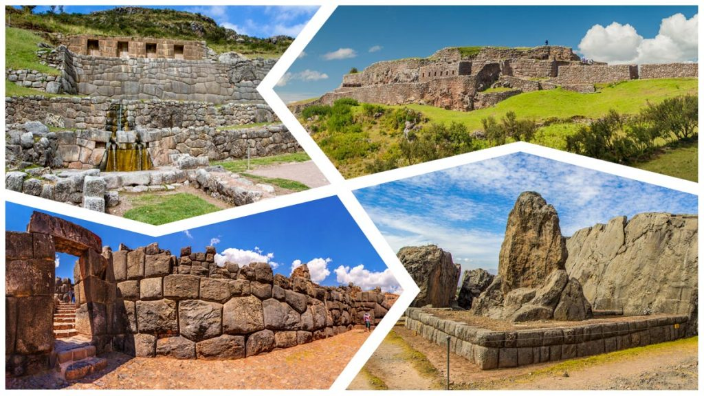 Sacsayhuaman, Qenqo, Puka pukara and Tambomachay are archaeological centers that you can visit in Cusco.