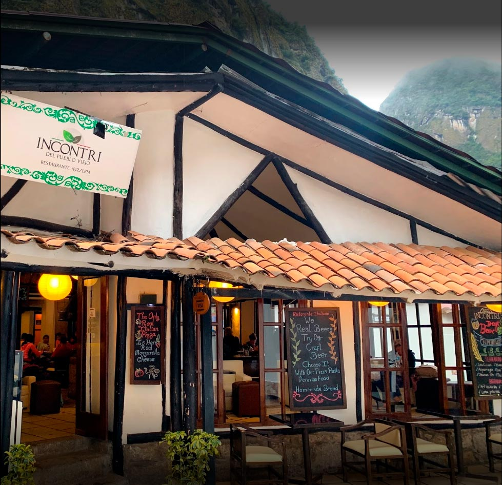 Incontri one of the best restaurants located in Aguas Calientes, Machu Piacchu, you can find a wide variety of foods