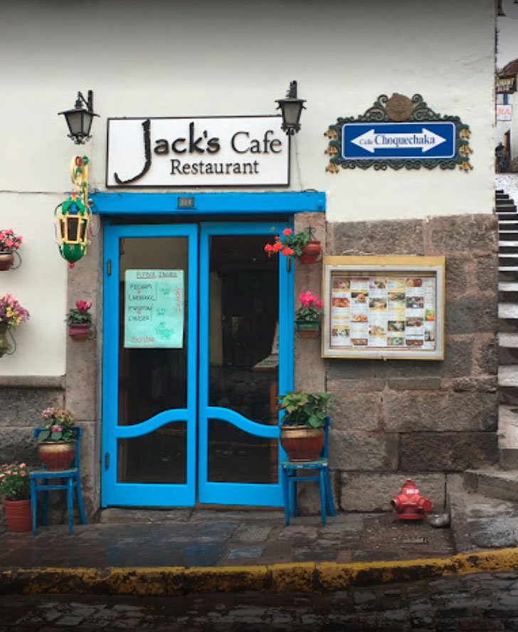 The Jack's Café Restaurant in Cusco invites you to enjoy an exquisite experience of aromas and sensations.