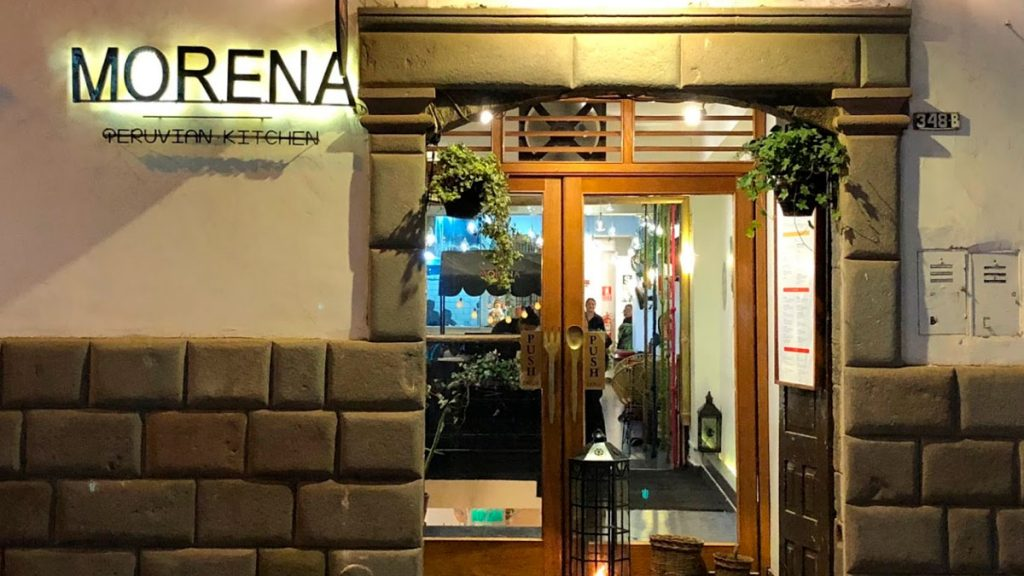 Morena Peruvian Kitchen is a restaurant in the heart of the city of Cusco.
