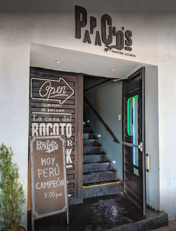 Papacho's is a Peruvian restaurant based on creativity, daring, respect for products and the idea that the Peruvian seasoning.