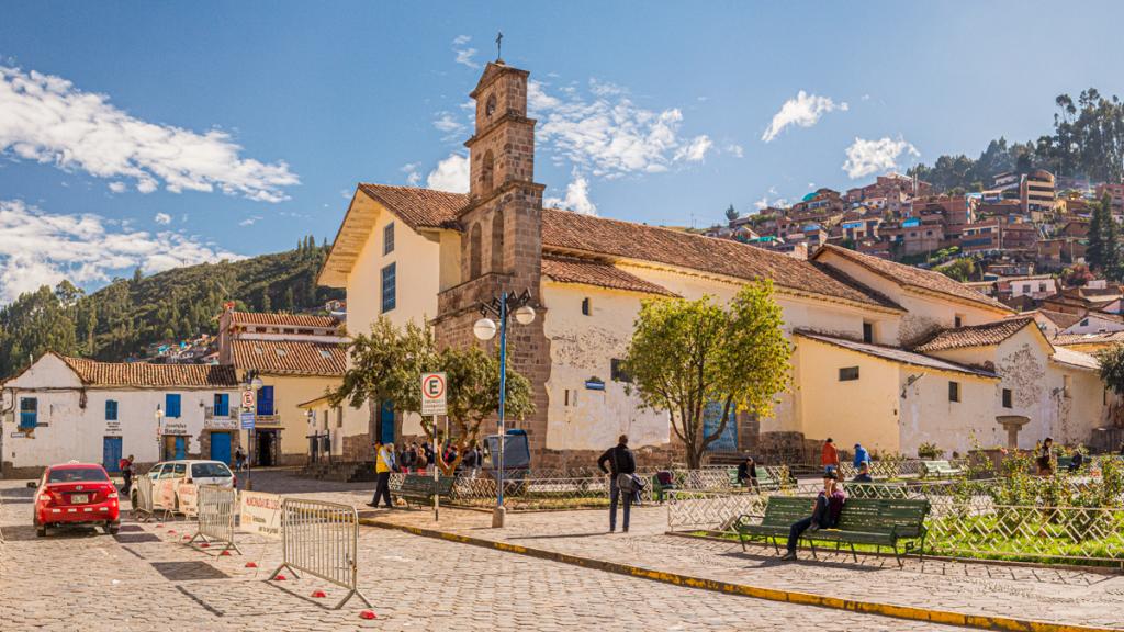 The Plaza de San Blas is a public square located in the historic center of Cusco.