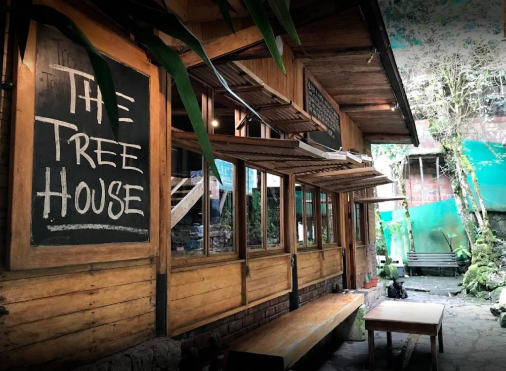 The Tree House restaurant located in Aguas Calientes Machu Picchu