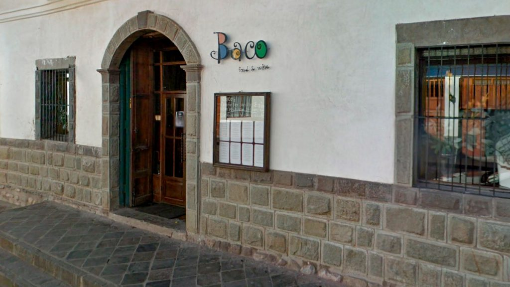 The Baco Restaurant in Cusco is a perfect space to enjoy the best of international cuisine.