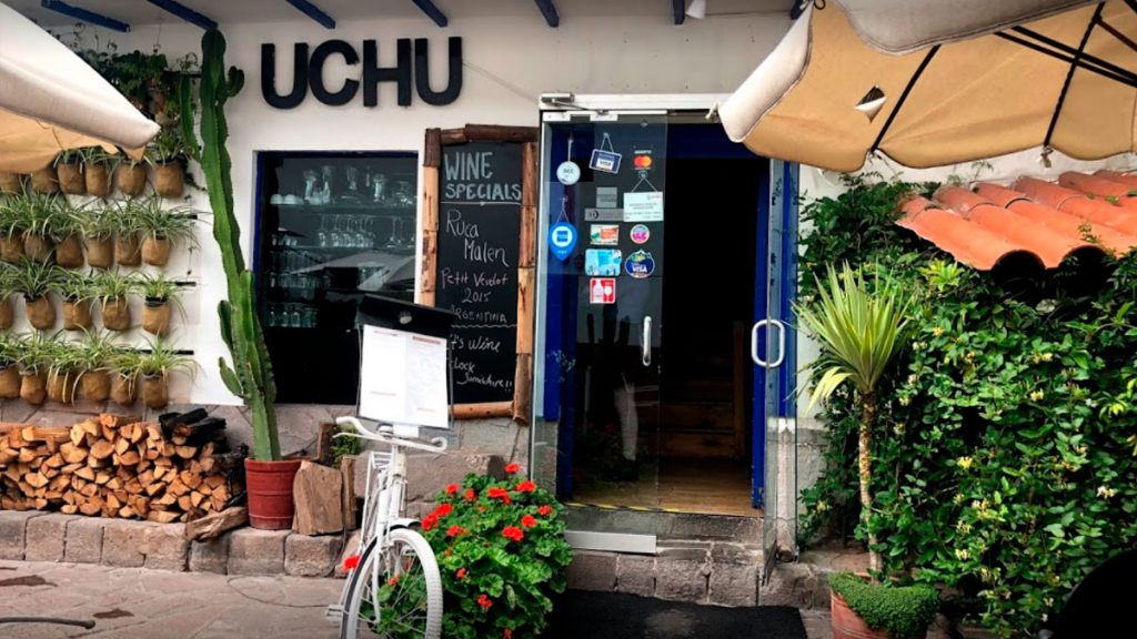 uchu one of the best restaurants in the city of Cusco with a great variety of dishes