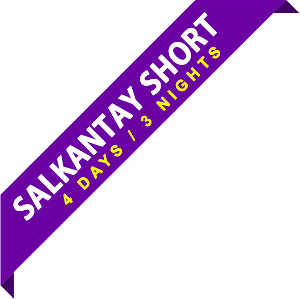 salkantay trek short