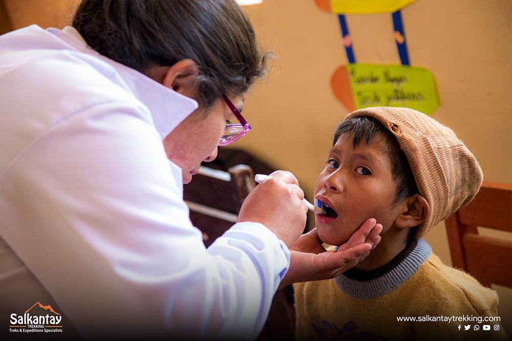 cusco project oral hygiene