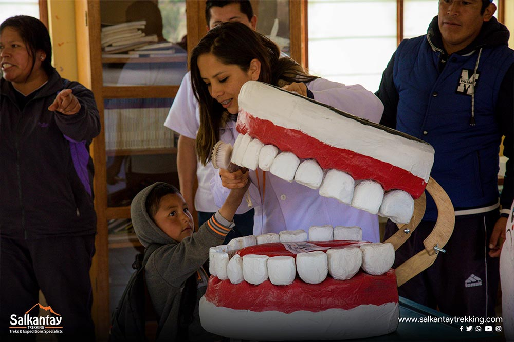 project oral hygiene cusco