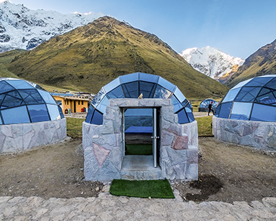 Sky camp Salkantay